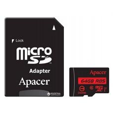 Карта памяти Apacer microSDXC 64GB UHS-I U1 Class 10