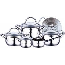Набор посуды Bergner из 10 предметов