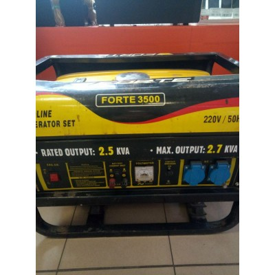 Бензиновый генератор Forte FG3500 Б/У