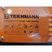 Сварочный инвертор Tekhmann TWI-200 DB