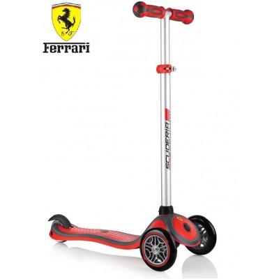 Детский самокат Globber Ferrari Red