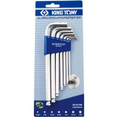 Набор шестигранных ключей King Tony 20107MR01