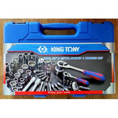 Набор инструментов KING TONY SC7596MR (96 предметов) Б/У