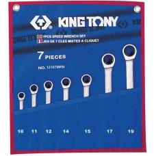 Набор ключей гаечных King Tony 12107MRN