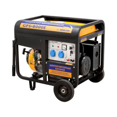 Бензиновый генератор Sadko GPS-8000e Б/У