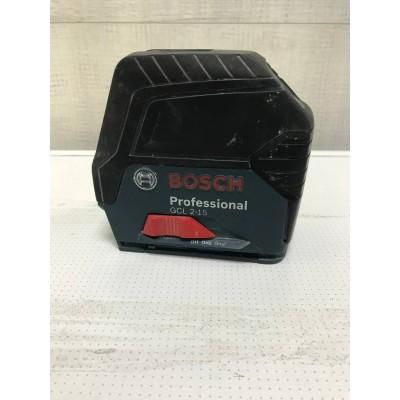 Линейный лазерный нивелир Bosch GCL 2-15 Professional Б/У