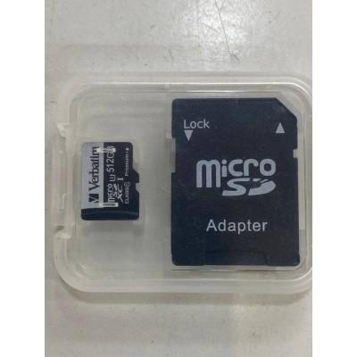 Карта памяти Blue Wave 512 GB MicroSD SD/TF Card Class10