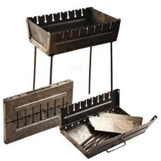 Мангал-чемодан на 8 шампуров 50*27*5см