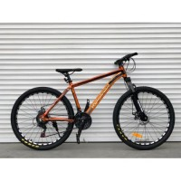 """Велосипед 29"""" Top Rider алюминиевый """"680"""" золотой"""