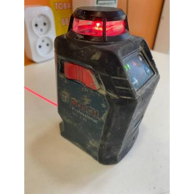 Лазерный нивелир Bosch GLL 2-20 Б/У