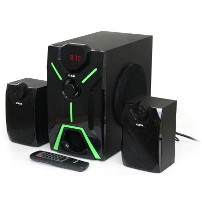Музыкальный центр 2.1 15Вт+2х5Вт BT/FM/USB/SD/ДУ ZXX ZX-4800BT