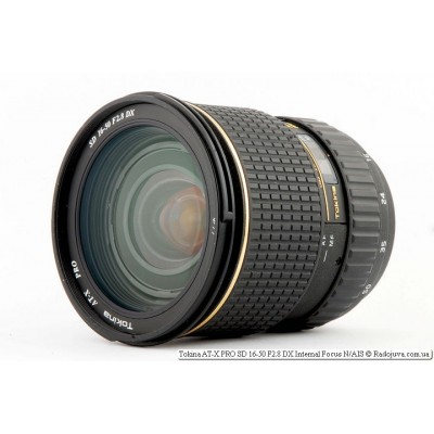 Объектив Tokina AT-X PRO SD 16-50 F2.8 DX