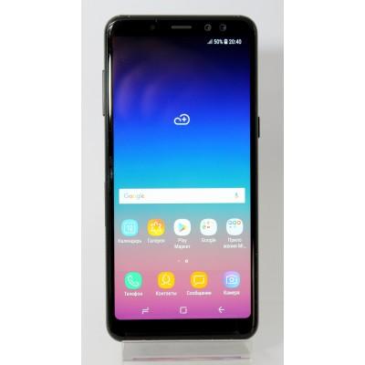 Samsung Galaxy A8 2018 32GB Black Б/У