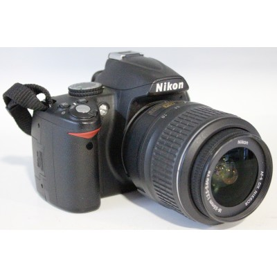 Фотоаппарат Nikon D3000 + 18-55VR Kit