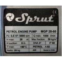 Мотопомпа Sprut MGP 28–60