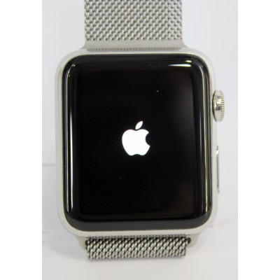 Смарт - часы Apple Watch Series 1 42mm Stainless Steel Case with Milanese Loop (MJ3Y2) Б/У