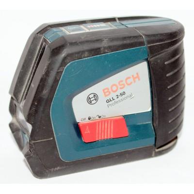 Линейный лазерный нивелир Bosch GLL 2-50 Professional Б/У