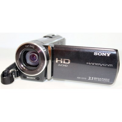 Видеокамера Sony HDR-CX110E Black Б/У