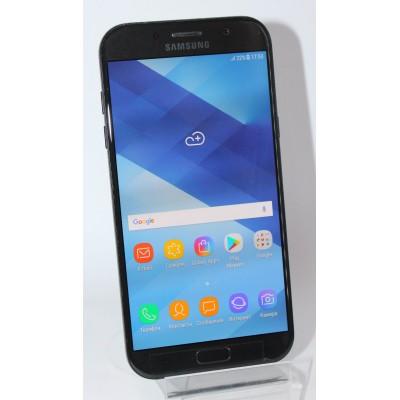 Samsung Galaxy A7 2017 Duos SM-A720 32GB Black Б/У