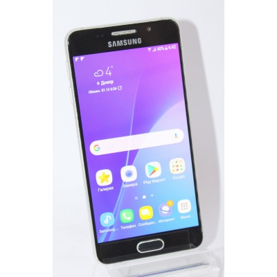 Samsung A310F Galaxy A3 (2016) Duos Black Б/У