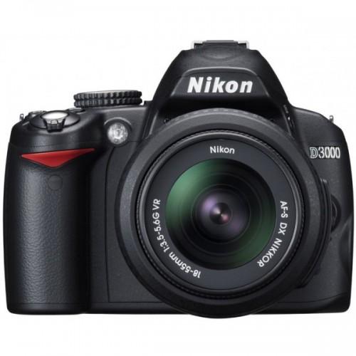 Nikon d3000 + 18-55