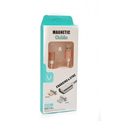 """Кабель Micro USB """"Magneti"""" Магнитный"""